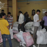Gujarat Flood Raahat Seva Food Packet Distribution July 2017